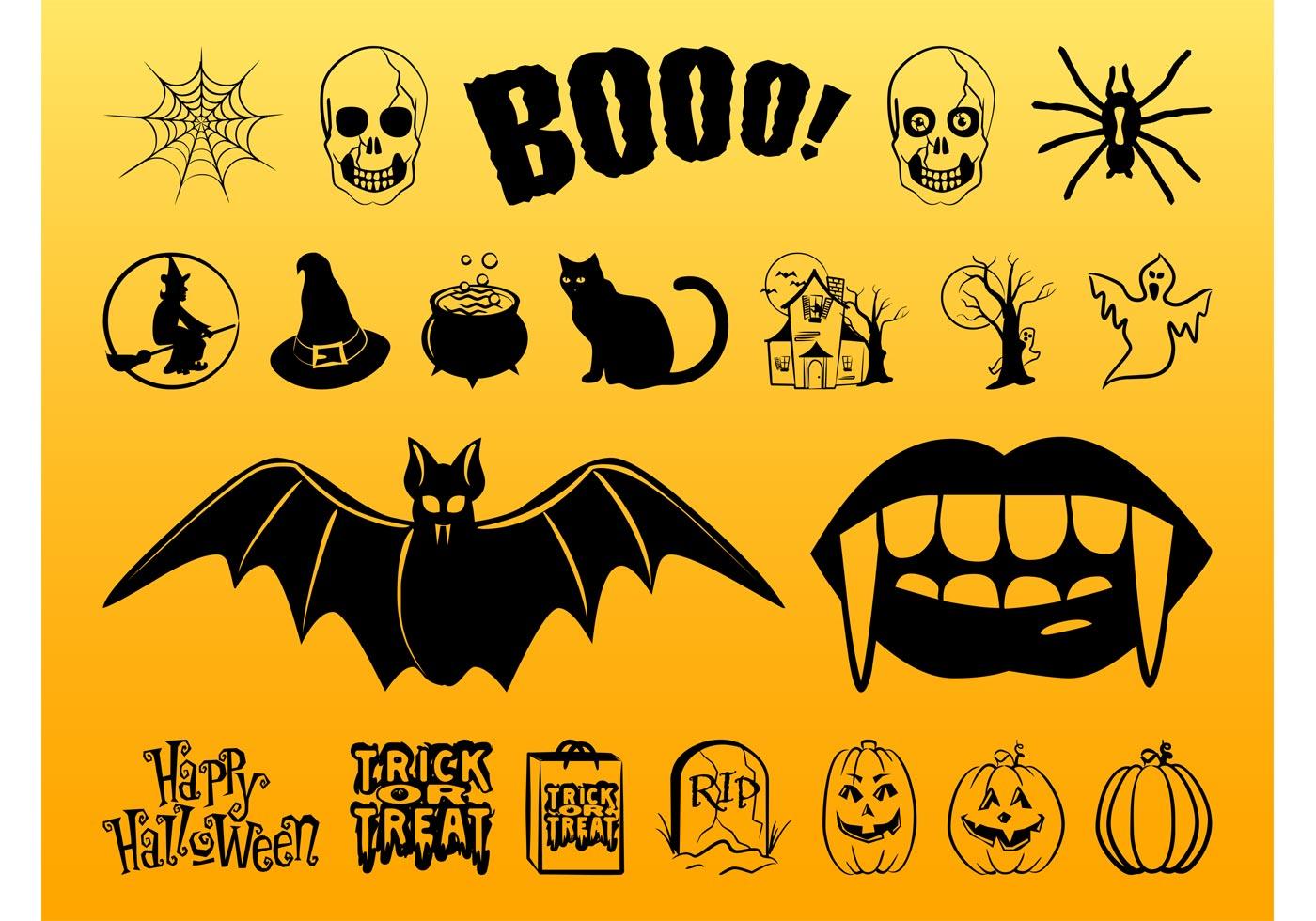 Halloween Images Set - Download Free Vector Art, Stock ...