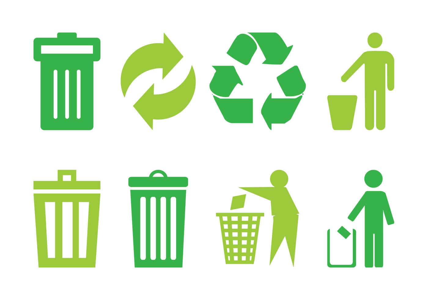 trash icon free vector art 30290 free downloads
