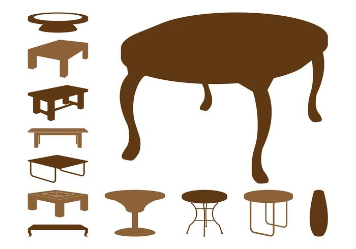 Table Silhouettes