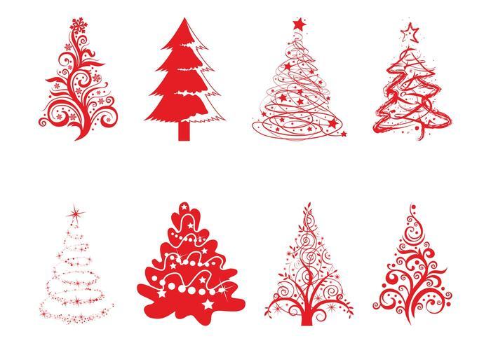 Holiday Trees Set