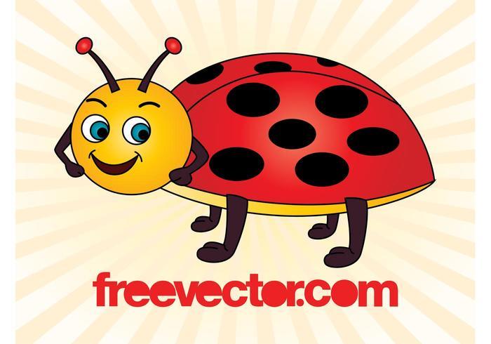 Cartoon Ladybird