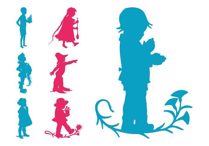 Kids Silhouettes Set