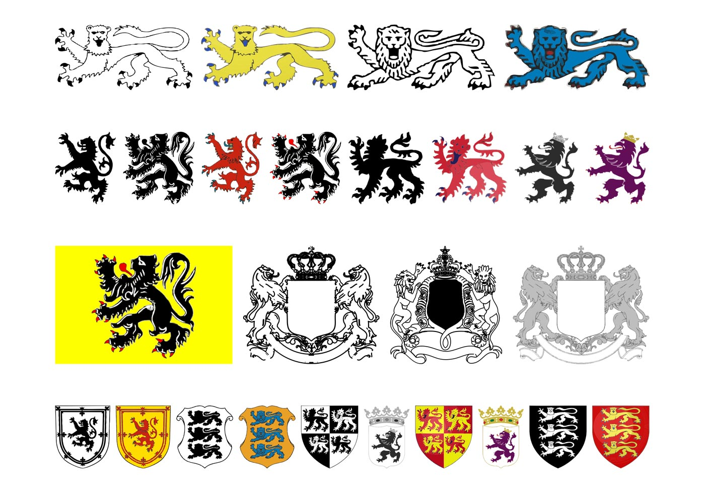 heraldry clipart download free - photo #18