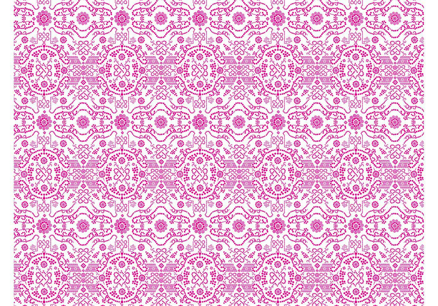Idea Thanks Free abstract floral pattern phrase and