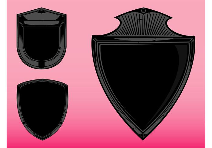 Blank Shields Graphics