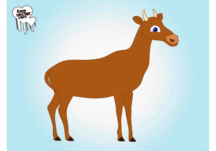 Cartoon Cow Image