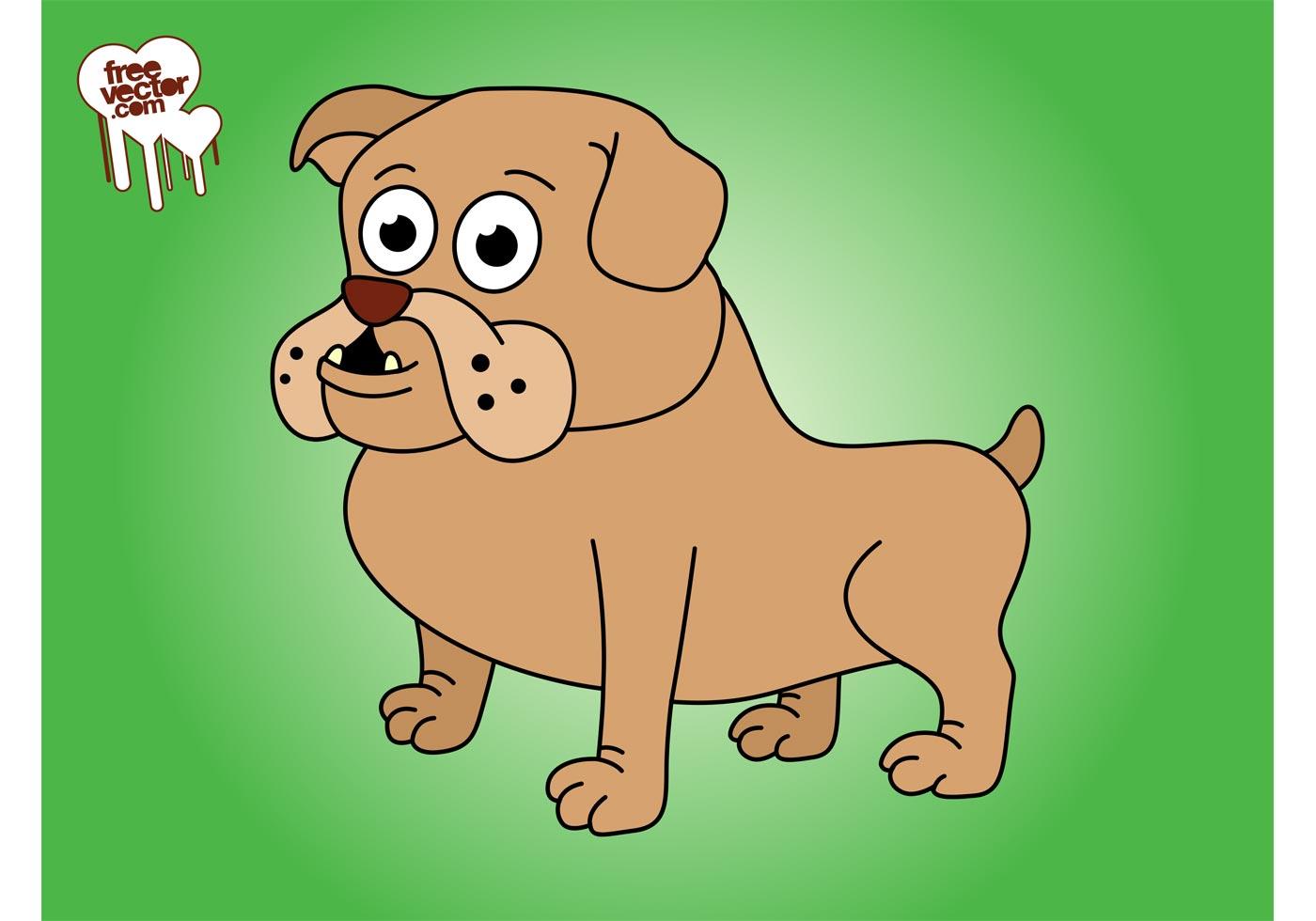 Cartoon Bulldog - Download Free Vector Art, Stock Graphics ...