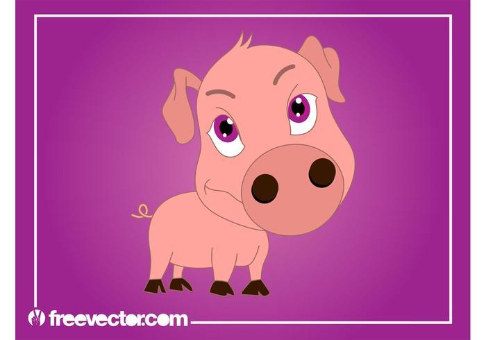 Cartoon Pig Graphics