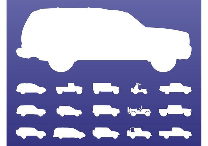 Off-Road Cars Set