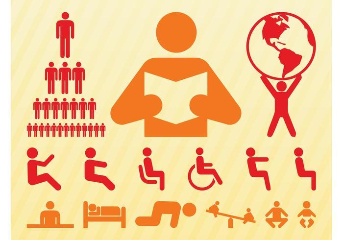 People Symbols Set