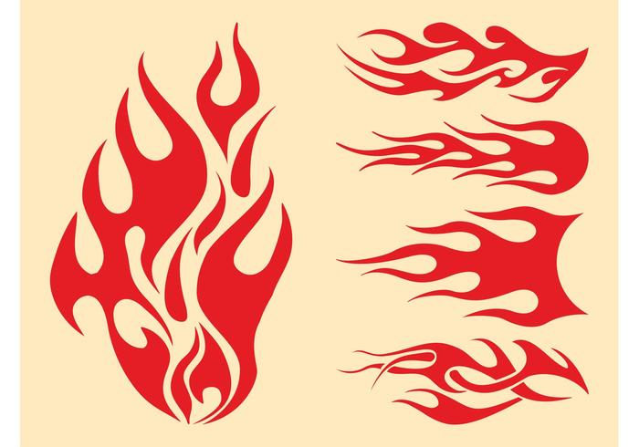 Flames Graphics Set