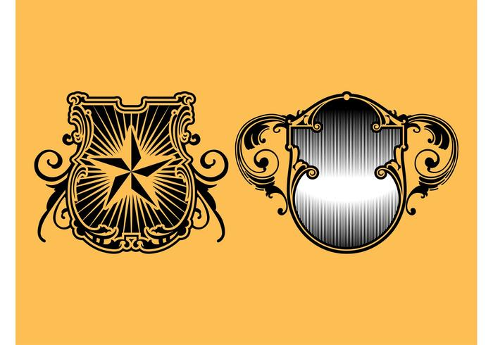 Retro Shields Graphics