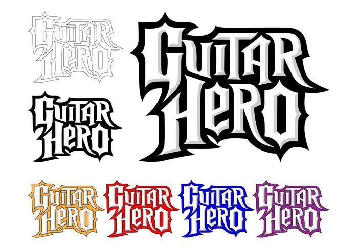 Guitar Hero Logo Set