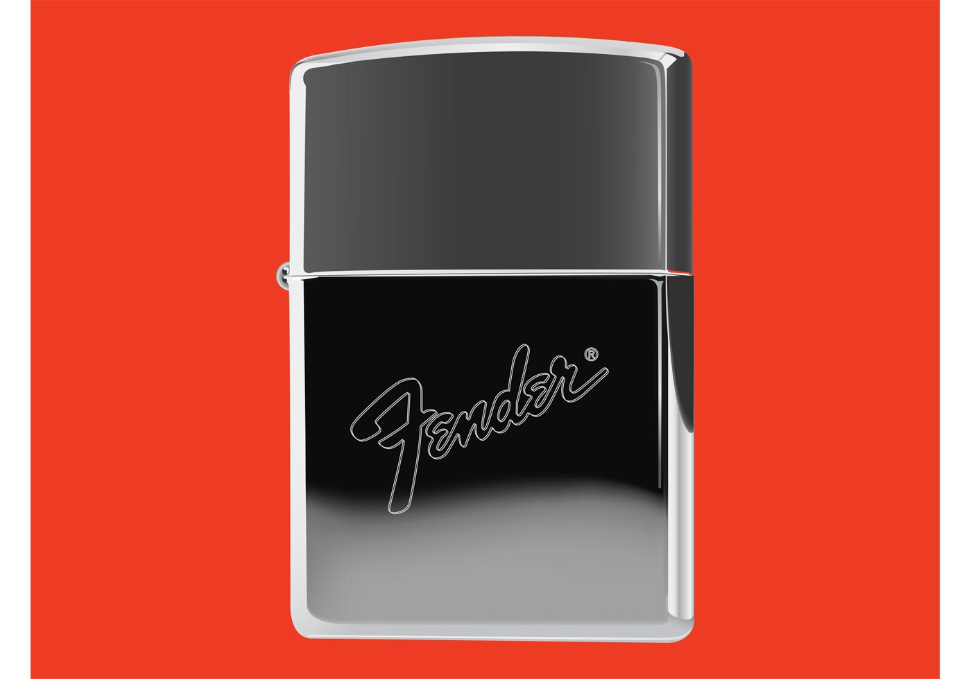 Zippo Lighter With Fender Logo Download Free Vector Art