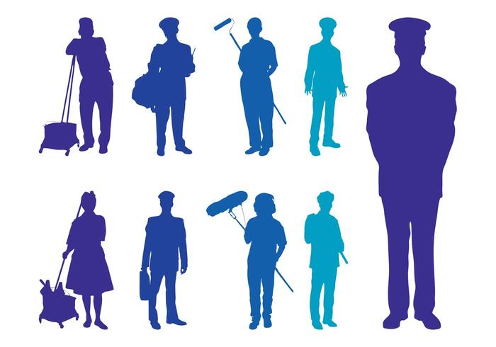 Professions Silhouettes