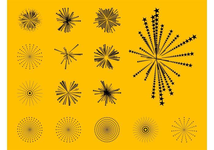 Grafieken van sterrensterren