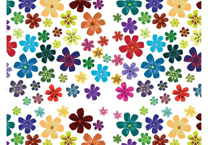 Flower Blossoms Pattern
