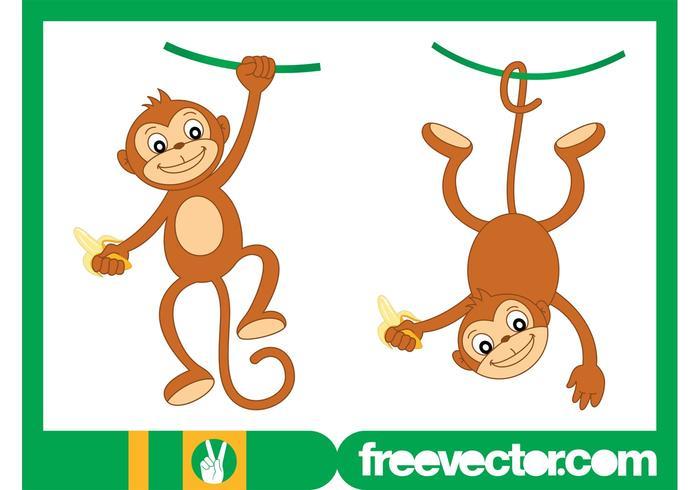 Happy Monkey Characters