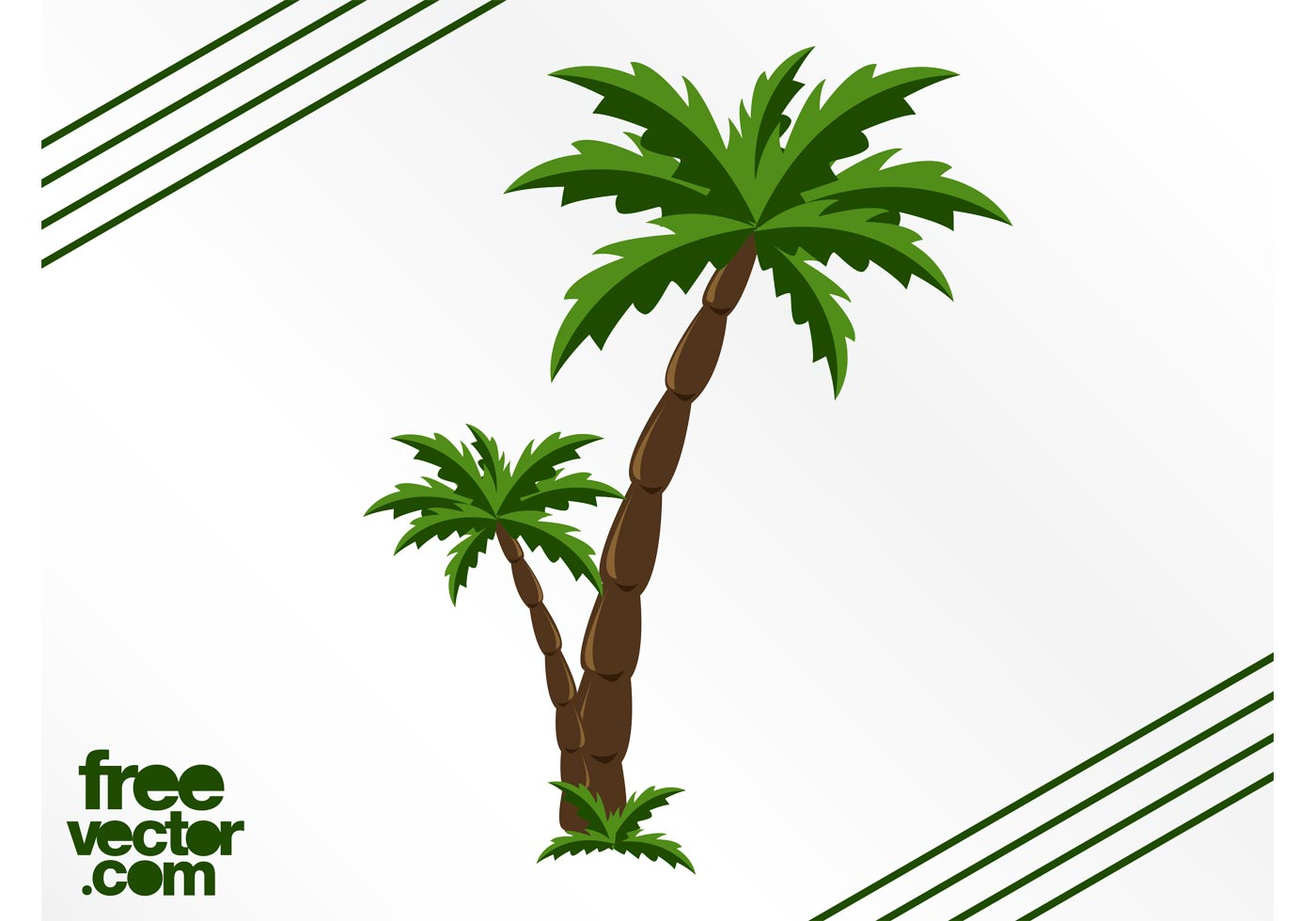 Palm Trees Graphics - Download Free Vector Art, Stock ... - photo#42