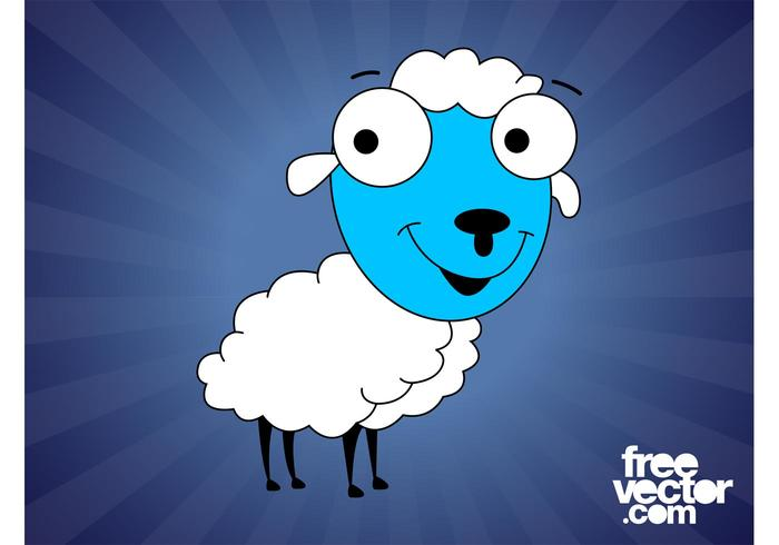Cartoon Sheep Graphics