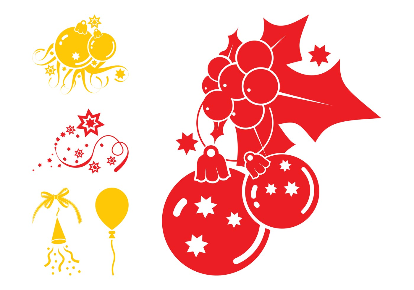 Christmas Decorations Graphics - Download Free Vector Art ...