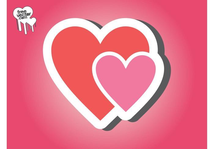 Hearts Sticker Graphics