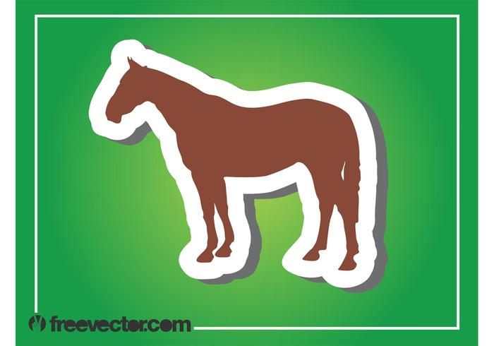 Horse Silhouette Graphics