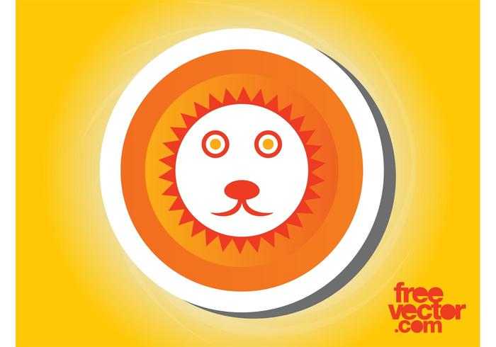Lion Sticker Graphics