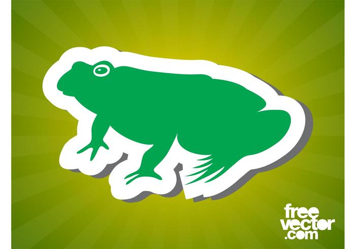 Frog Sticker Graphics