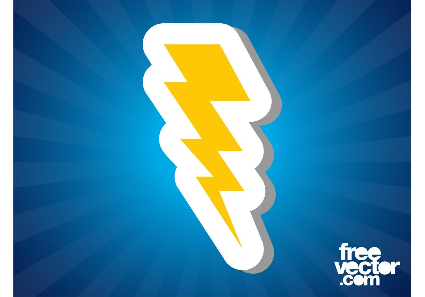 Lightning Bolt Icon Download Free Vector Art Stock