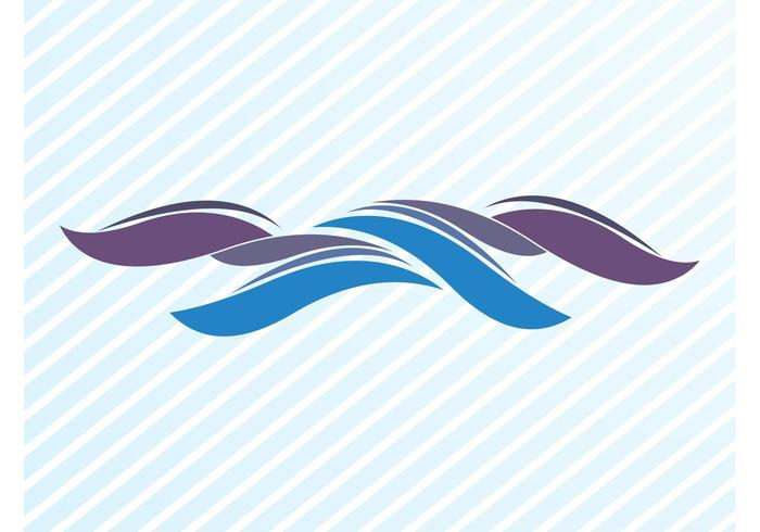 Waving Lines Graphics Element