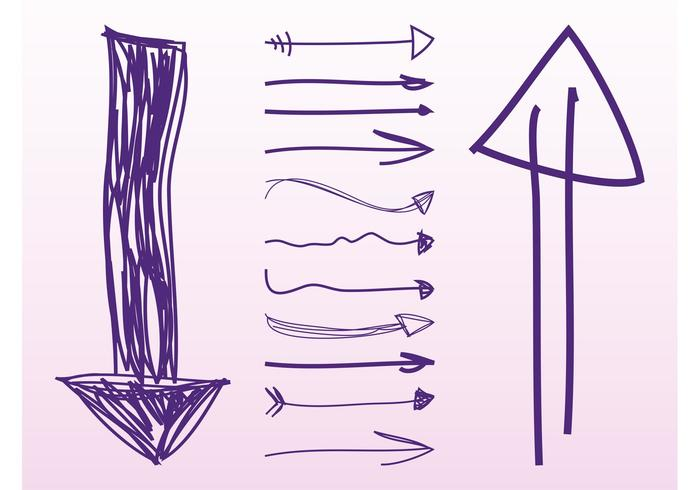 Hand Drawn Arrows Pack