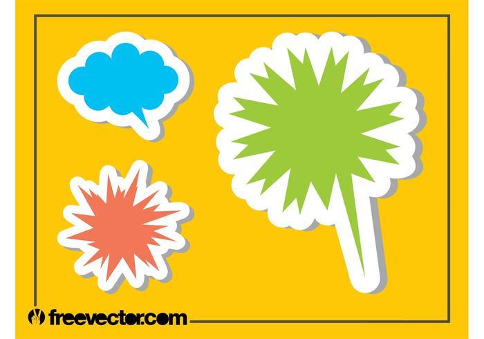 Comic Book Stickers