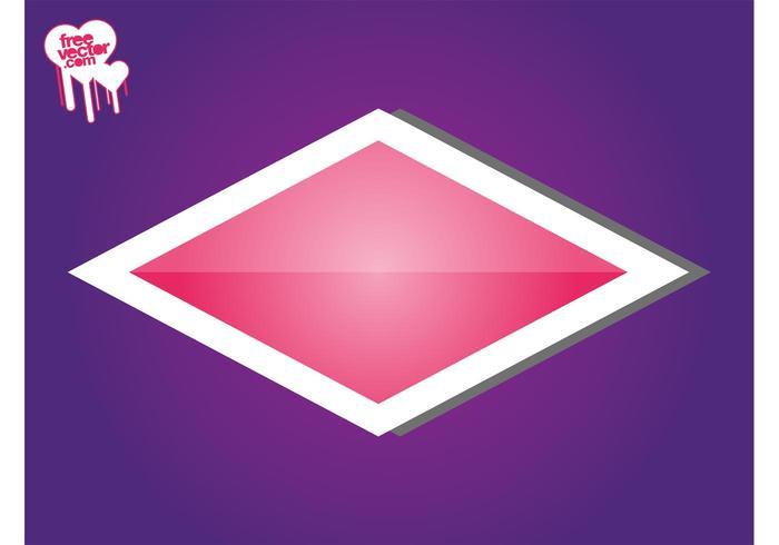 Pink Sticker Template