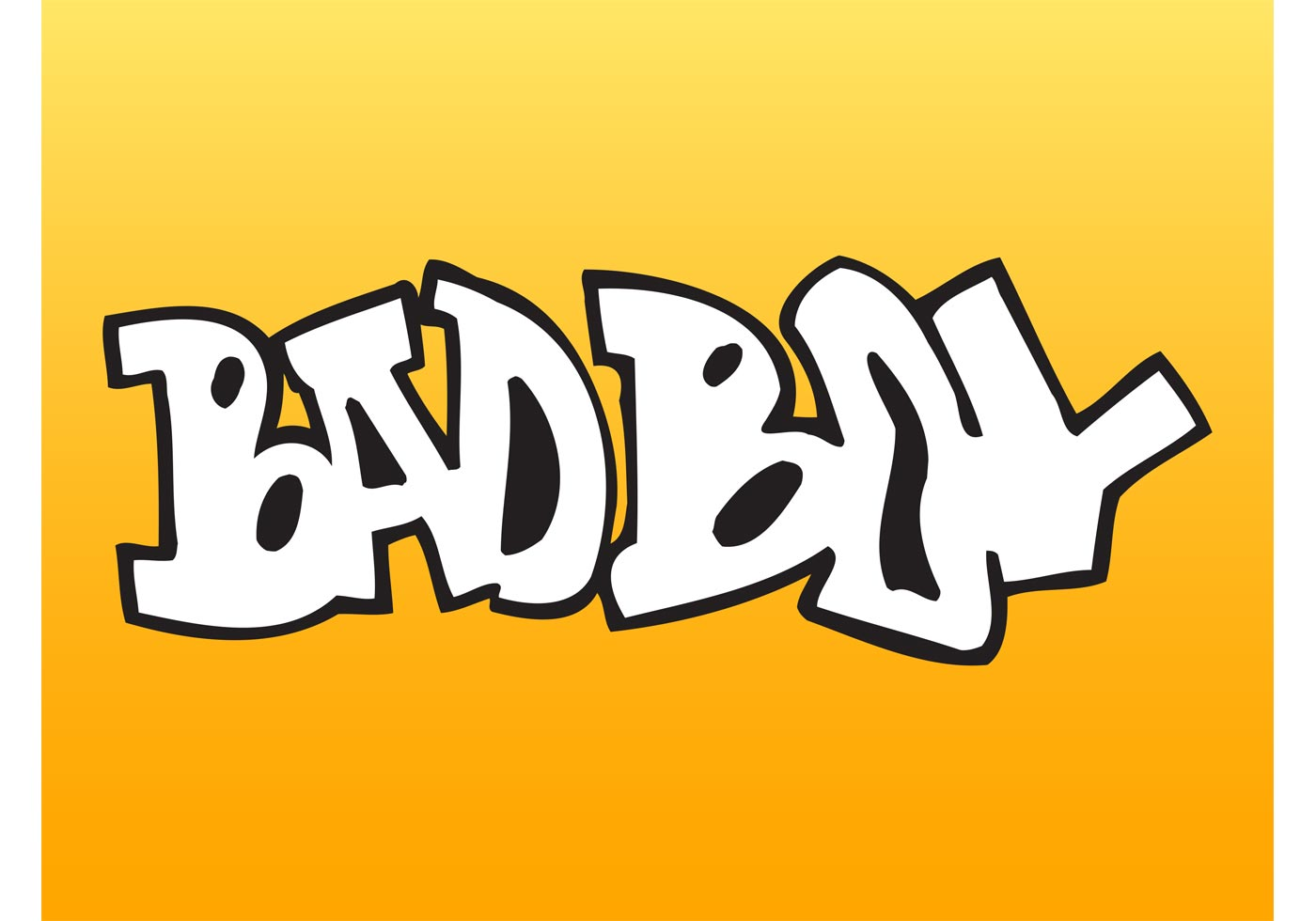 Bad Boy Graffiti - Download Free Vector Art, Stock Graphics & Images