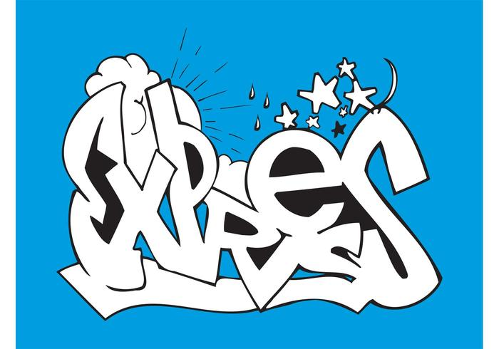 Express Graffiti Piece