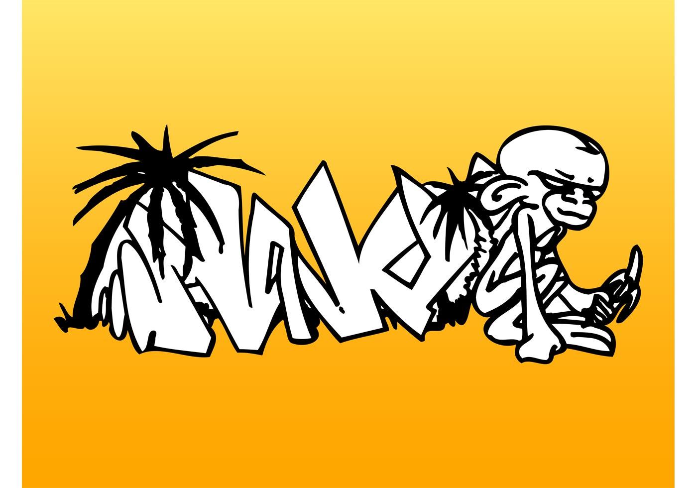 Graffiti Words Peace