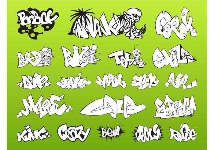 Graffiti Piece Pack