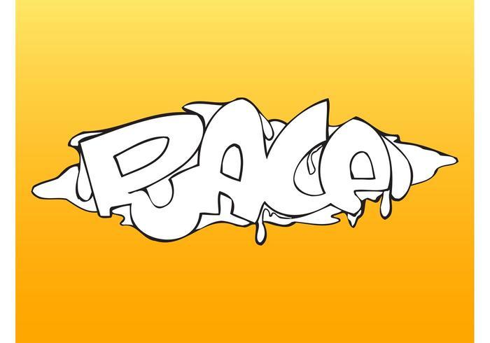 Race Graffiti