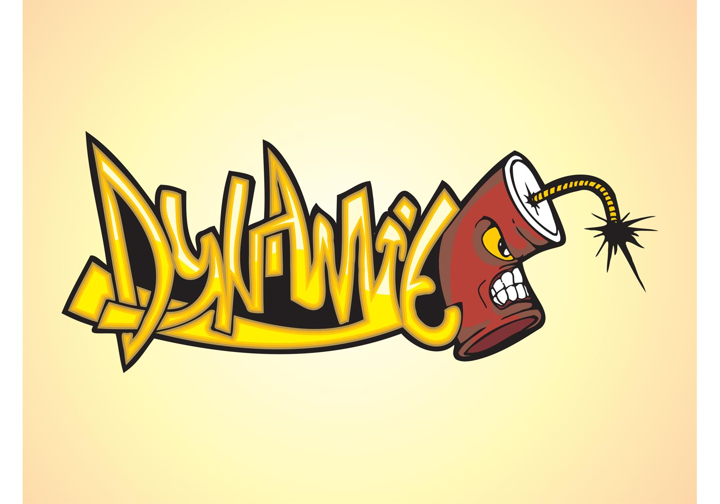 Dynamite Graffiti Piece Download Free Vector Art Stock