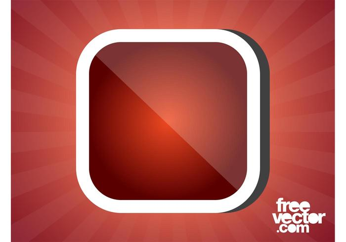 Square Sticker Design