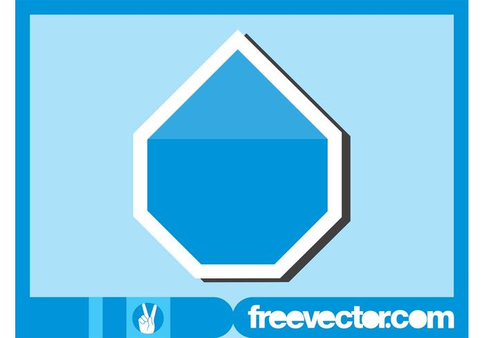 Blue Sticker Graphics