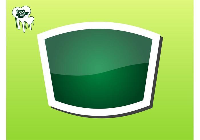 Green Sticker Graphics