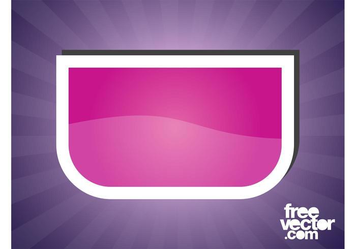 Pink Sticker Design