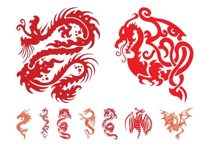 Dragon Graphics Set