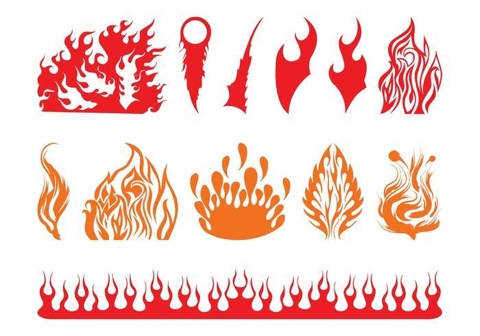 Fire Graphics Set