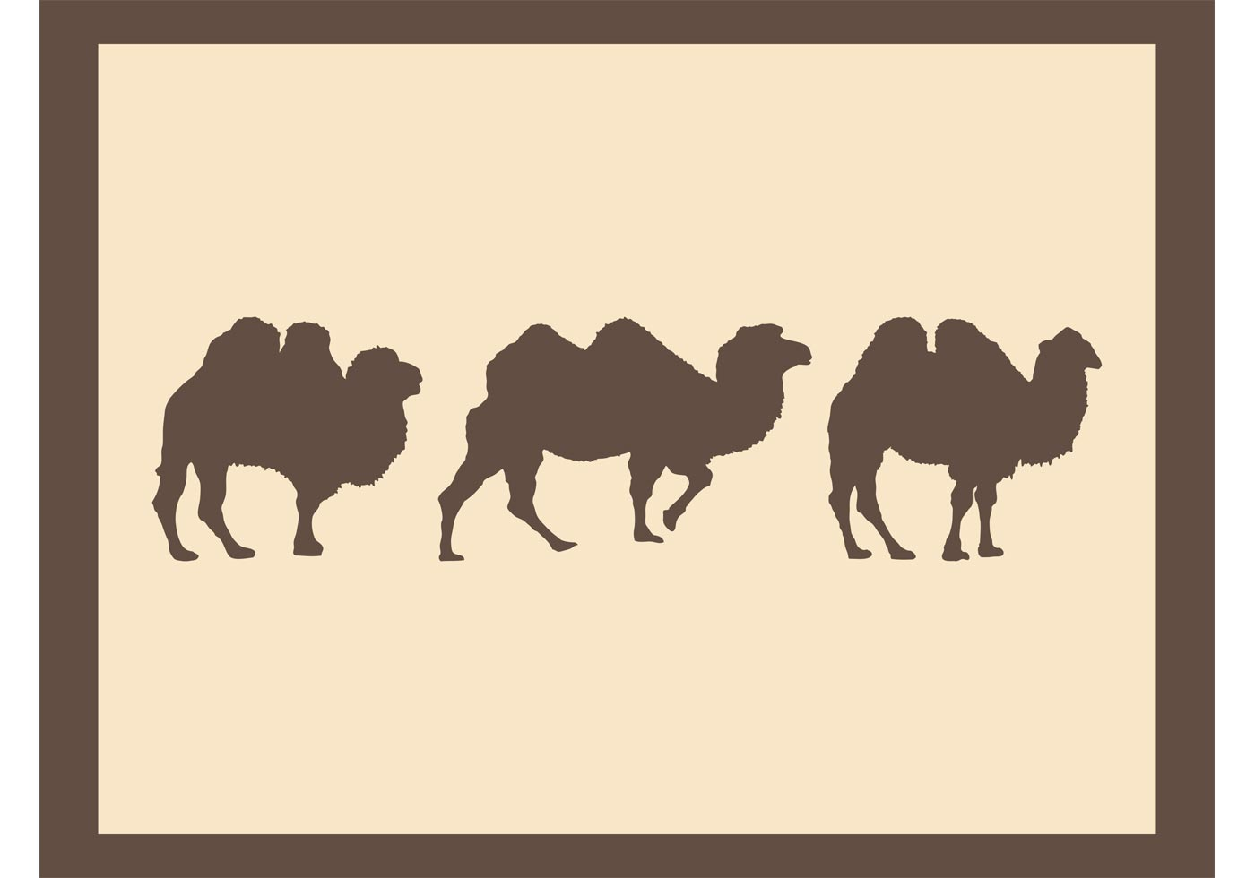 Camels Silhouettes - Download Free Vector Art, Stock ... | 1400 x 980 jpeg 39kB