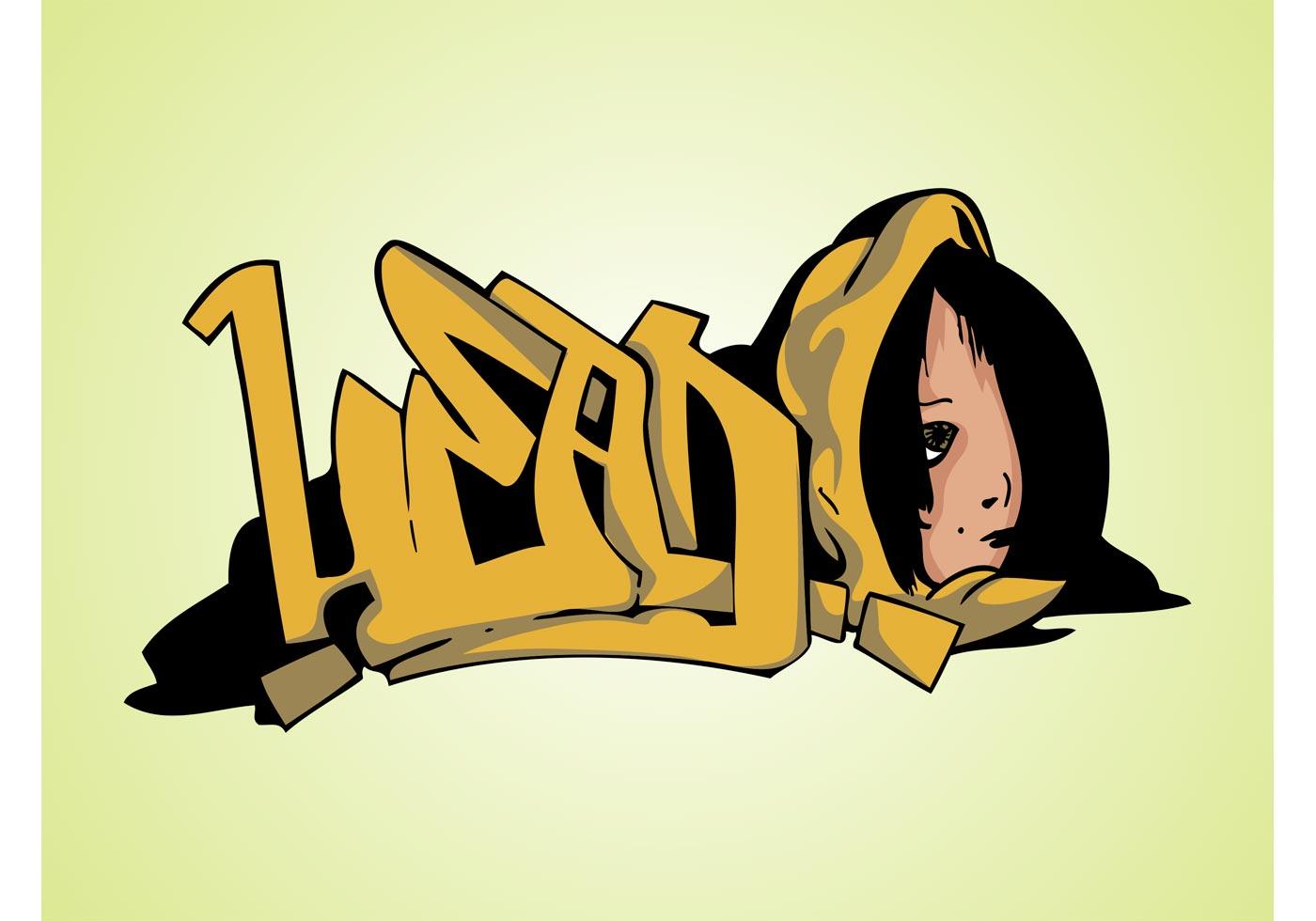 Head Graffiti Piece - Download Free Vector Art, Stock ...