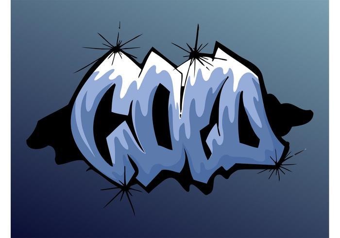 Cold Graffiti Piece
