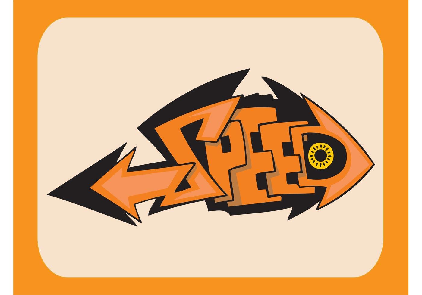 speed graffiti piece   vector art stock graphics images